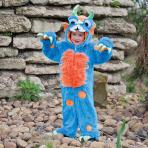 Animal Antics Blue Monster Costume - Age 18-24 Months - 1 PC