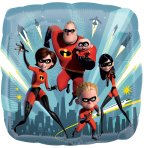 The Incredibles 2 Standard Foil Balloons S60 - 5 PC