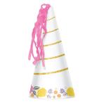 Magical Unicorn Party Horn Hats - 6 PKG/8