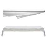 Clear Plastic Table Rolls 1m x 76m - 1 PC