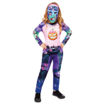 Gamer Girl Costume - Age 6-8 Years - 1 PC