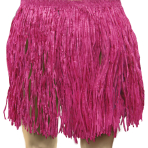 Pink Tissue Hula Skirts - Adult Size - 3 PC