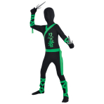 Children Ninja All in One Suit Costume - Age 4-5 Years - 1 PC