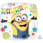 Despicable Me Party Standard HX Foil Balloons S60 - 5 PC