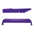 New Purple Jumbo Plastic Table Rolls 1m x 76m - 1 PC