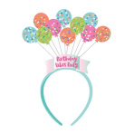 Birthday Balloons Head Boppers 31cm x 12cm - 6 PC