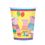 Peppa Pig Paper Cups 266ml - 6 PKG/8