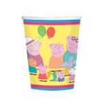 Peppa Pig Paper Cups 266ml - 6 PKG/8