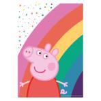 Peppa Pig Paper Loot Bags - 6 PKG/8