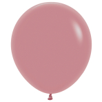 """Fashion Colour Solid Rosewood 010 Latex Balloons 18""""/45cm - 25 PC"""