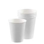 Frosty White Paper Cups 266ml - 12 PKG/8