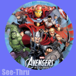 "Avengers See-Thru Foil Balloon - 26""/66cm P30 10 PC"