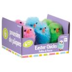 Chenille Chicks Multi Colours - 12 PKG/6