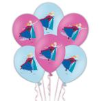 "Frozen 4 color printed Latex Balloons 11""/27.5cm - 6 PKG/6"