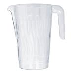 Clear Plastic Pitcher 1.47 Litre - 20 PKG