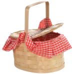 Red Riding Hood Basket Purse 22cm x 11cm - 3 PC