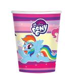 My Little Pony Paper Cups 266ml - 10 PKG/8