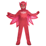 PJ Masks Owlette Deluxe Costume - Age 3-4 Years - 1 PC