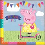 Peppa Pig Napkins - 12 PKG/16