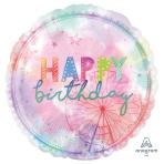 "Girlchella Jumbo Foil Balloons 28""/71cm w x 28""/71cm h P32 - 5 PC"