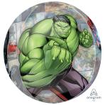 """Avengers Powers Unite Orbz Foil Balloons 15""""/38cm w x 16""""/40cm h G40 - 5 PC"""