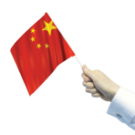China Waving Flags  - 22cm w x 15cm h 6 PKG/12