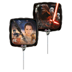 Star Wars The Force Awakens Mini Foil Balloons  A20 - 5 PC