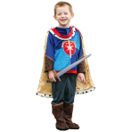 Boys will be Boys Prince Costume - Age 6-8 Years - 1 PC