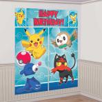 Pokémon Wall Decoration Kits - 6 PKG/5