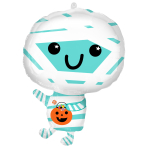Happy Mummy Standard Shape Foil Balloons 16/40cm w x 22/55cm h S50 - 5 PC
