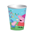 Peppa Pig Paper Cups 260ml - 6 PKG/8