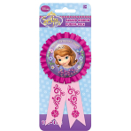 Disney Sofia the First Award Ribbons - 6 PKG