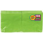 Kiwi Green luncheon Napkins 33cm - 6 PKG/125