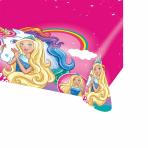 Barbie Dreamtopia Plastic Tablecovers 1.37m x 2.6m - 10 PC