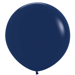 """Fashion Colour Solid Navy Blue 044 Latex Balloons 36""""/91.5cm - 2 PC"""