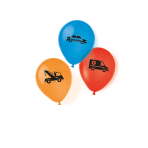 "On the Road Latex Balloons 11""/27.5cm - 10 PKG/6"