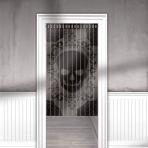 Skull Lace Door Curtains 84cm x 1.65m - 3 PC