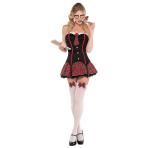 Adults Nerdy & Flirty Costume - Size 10-12 - 1 PC