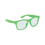 Fun Shades Green Clear - 6 PKG