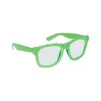 Fun Shades Green Clear - 6 PC
