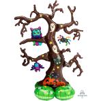 "Creepy Tree AirLoonz Large Foil Balloons 44""/111cm x 62""/157cm P70 - 3 PC"