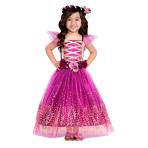 Plum Princess Costume - Age 4-6 Years - 1 PC
