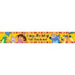 Dora the Explorer Banner 4.5m - 12 PKG