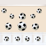 Championship Soccer Assorted Cut-outs - 12 PKG/12