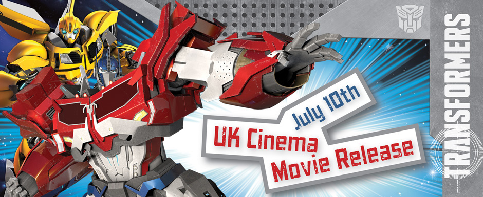 Transformers Party & Balloons - Movie release July 2014