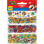 Super Mario 3 Park Value Confetti 34g - 12 PKG