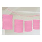 New Pink Lantern Garlands 3.65m - 6 PC