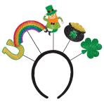 St. Patrick's Day Over the Rainbow Headboppers 26cm x 11cm - 6 PC