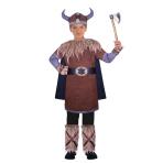 Wild Viking Warrior Costume - Age 8-10 Years - 1 PC