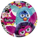 Furby Paper Plates 23cm - 10 PKG/8